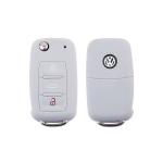 Silicone coque / housse clé télécommande pour Volkswagen, Skoda, Seat voiture  SEK1-V2