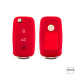 Silicone key case/cover for Volkswagen, Skoda, Seat remote keys  SEK1-V2