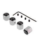 Tire Valve Caps for Mini-Cooper, 4pcs