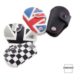 Car Key Cover Leather for Mini-Cooper R55 R56, KeyType MC2 Variant A