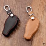 Leder Schlüssel Cover passend für Mercedes-Benz Schlüssel M8 schwarz
