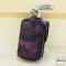 Schlüsseltasche im Camouflagemuster violett