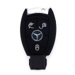 Silikon Schutzhülle / Cover passend für Mercedes-Benz Autoschlüssel M7