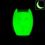 Silicone coque / housse clé télécommande pour Mercedes-Benz voiture lumineux vert SEK1-M7-8