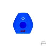 Silicone key case/cover for BMW remote keys blue SEK1-B2-4