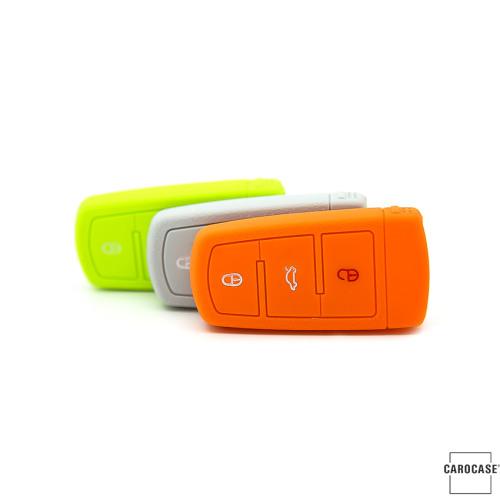 Coque de protection en silicone pour voiture Volkswagen clé télécommande V6