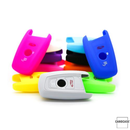 Coque de protection en silicone pour voiture BMW clé télécommande B5