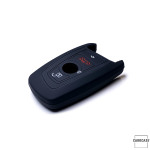 Silicone key case/cover for BMW remote keys black SEK1-B5-1