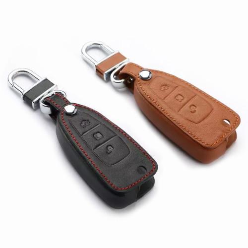 Cuero funda para llave de Ford F4