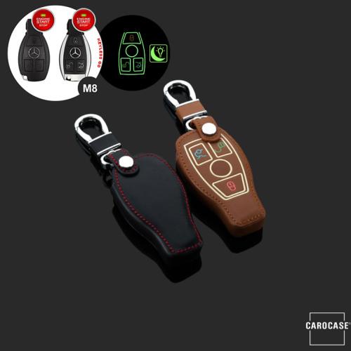 Cover Guscio / Copri-chiave Pelle compatibile con Mercedes-Benz M8