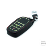 Lumineux coque/housse de clé en cuir pour Toyota...