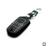 Leder Schlüssel Cover passend für Honda Schlüssel  LEUCHTEND! LEK2-H5