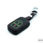 Leder Schlüssel Cover passend für Honda Schlüssel  LEUCHTEND! LEK2-H11