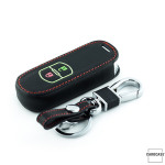Leder Schlüssel Cover passend für Honda, Mazda...