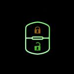 Luminous glow leather key case/cover for Honda, Mazda car keys