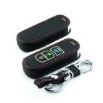 Lumineux coque/housse de clé en cuir pour Mazda...