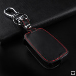 Luminous glow leather key case/cover for Volkswagen, Audi, Skoda, Seat car keys