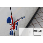 MINI silicon door protection Union Jack Flag (red/blue)