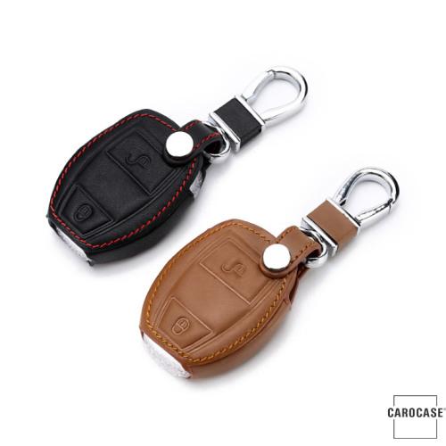 Leder Schlüssel Cover passend für Mercedes-Benz Schlüssel M6