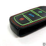 Luminous glow leather key case/cover for Volkswagen car...