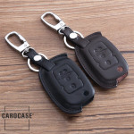 Leather car key case for Volkswagen - key type V2