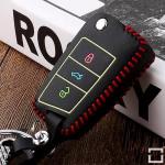 Schlüsseletui aus echtem Leder für Volkswagen...