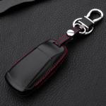 Schlüssel Cover Leder, für Audi Schlüsseltyp AU6