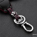Schlüssel Cover Leder, für Mercedes Schlüsseltyp M9 black
