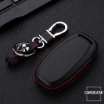 Schlüssel Cover Leder, für Audi Schlüsseltyp AU4