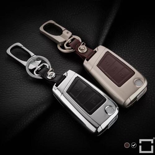 Schlüssel Cover aus Alu für VW Schlüsseltyp V3