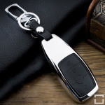 Housse de clé en alu pour Mercedes-Benz, type de clé M9 noir