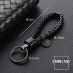 Bracelet porte-clés en similicuir