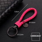 Key chain 8mm thickness, including key ring dark pink