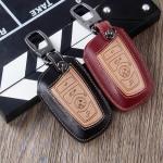 Schlüsseletui aus echtem Leder für BMW...