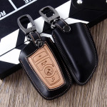 Premium Leder Schlüssel Cover passend für BMW Schlüssel  LEK12-B4