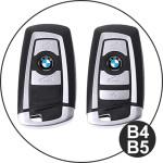 Premium Leder Schlüssel Cover passend für BMW Schlüssel weinrot LEK12-B4-9