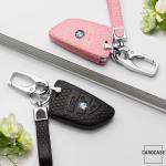 BLACK-ROSE Leder Schlüssel Cover für BMW...