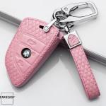 Schlüsseletui für BMW Schlüssel aus echtem Leder, Schlüsseltyp B4/B5