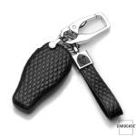 BLACK-ROSE Leder Schlüssel Cover für Mercedes-Benz Schlüssel  LEK4-M8