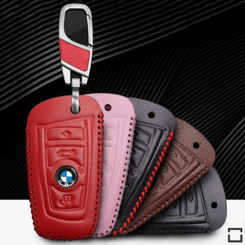 Leder Schlüsseletui für BMW Schlüsseltyp B4/B5