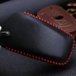 Leder Schlüssel Cover passend für BMW Schlüssel B4, B5