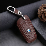 Leder Schlüssel Cover passend für BMW Schlüssel B4, B5 braun