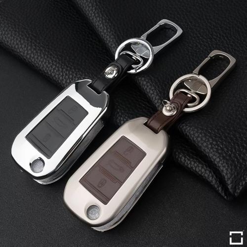 Schlüssel Cover aus Alu für Citroen Schlüsseltyp C3