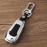 Schlüssel Cover aus Alu für Ford Schlüsseltyp F2 schwarz