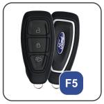 Alu Hartschalen Schlüssel Case passend für Ford Autoschlüssel  HEK2-F5