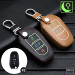 Luminous glow leather key case/cover for Opel, Citroen,...