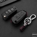 Housse de clé en cuir pour Audi, type de...