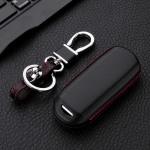 Leather key case for MAZDA, key type MZ2 black