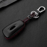 Leather case for Ford keys, key type F4 black