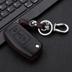 Leather key case for Ford, key type F1